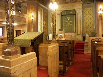 aufbau einer synagoge